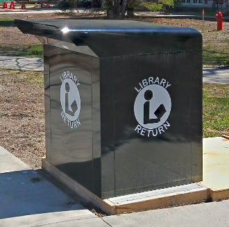 Library book drop