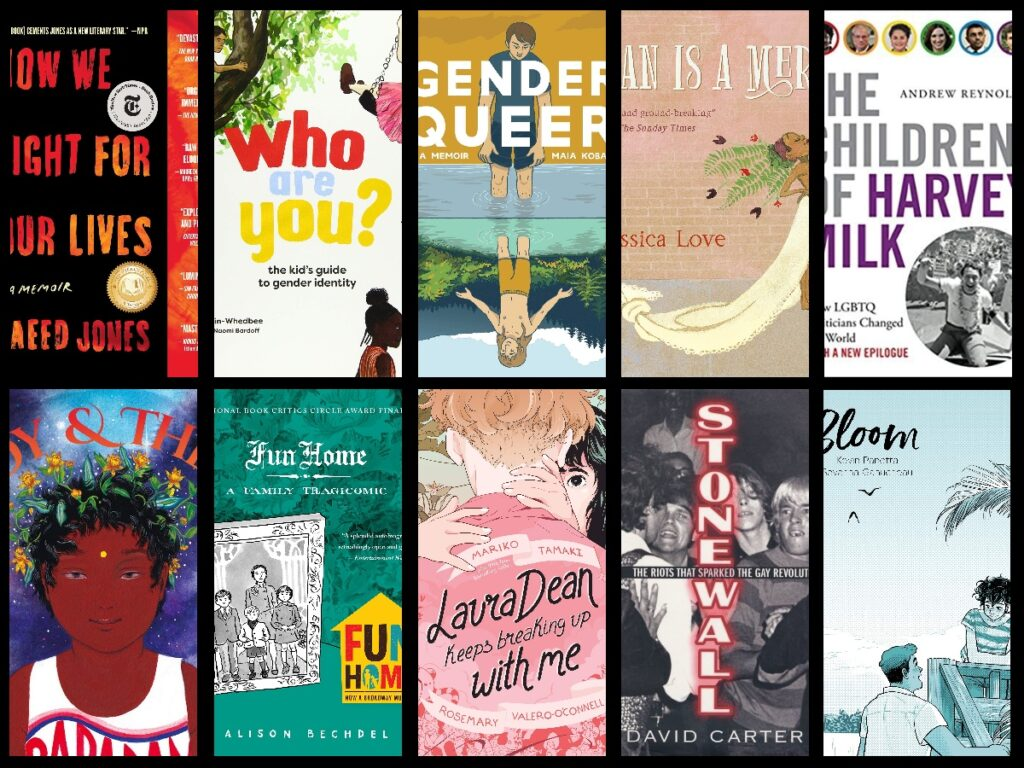 LGBT Book Recommendations covers