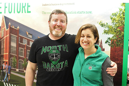 From Philly to NoDak: Recent UND grad visits North Dakota for the first time