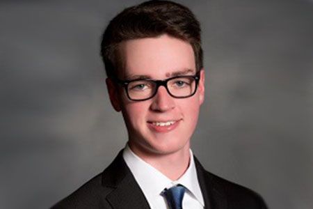 Mason Dunleavy named UND & N.D. Student Employee of the Year
