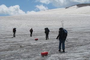 Research on the rocks 12,000-feet up