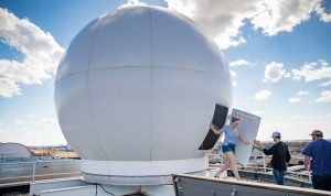 UND Atmospheric Sciences students receive hands-on experience with weather balloons