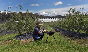 Australian company's technology matches up with UND and state known for drones, sunflowers and honeybees