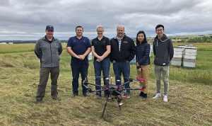 With UND's help, Australian ag-tech company brings its bee-tracking technology to North Dakota