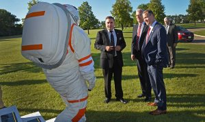 NASA Administrator Jim Bridenstine's Visit to UND