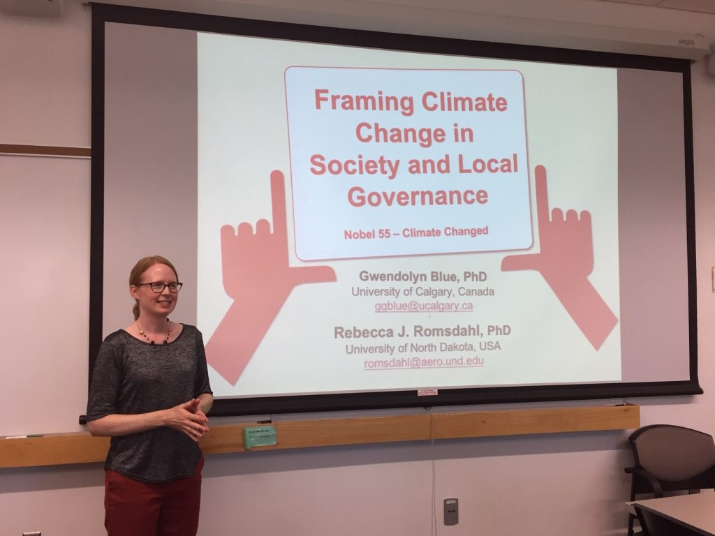 Framing climate change in society and local governance