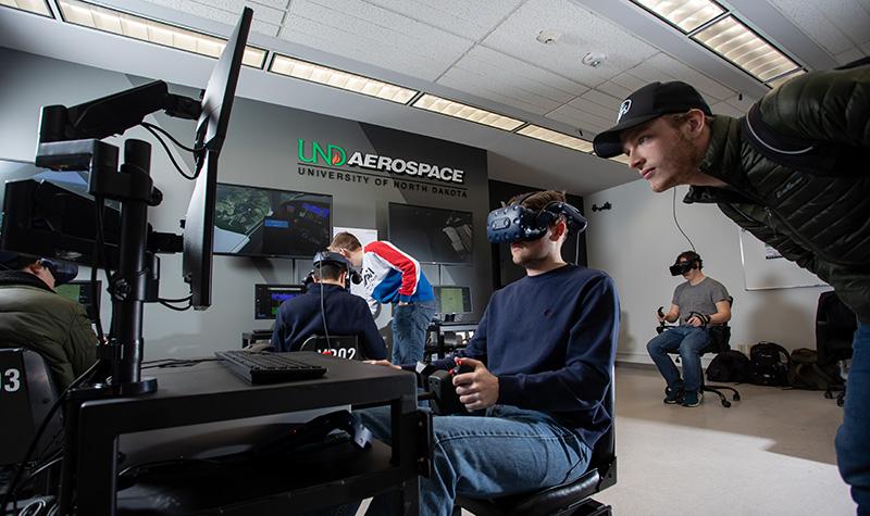 Simulators on campus: UND Aerospace launches VR flight trainer