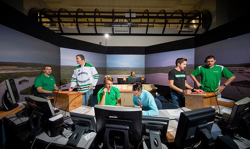 Simulators on campus: Aerospace students 'fly' at zero altitude
