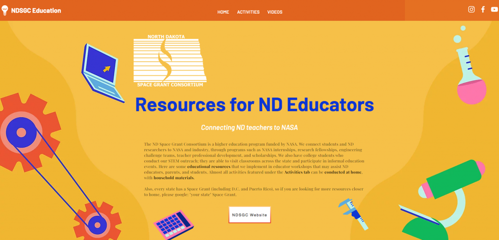 NDSGC Educational Resources for K-12