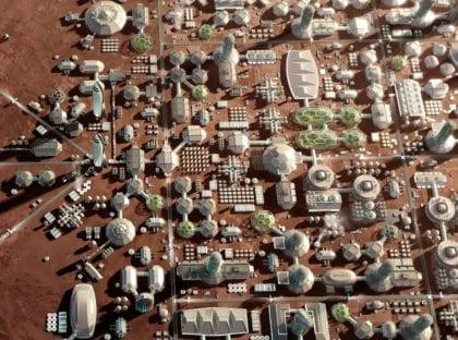 Semi-Finalist Team Chosen for Mars City State Design Contest