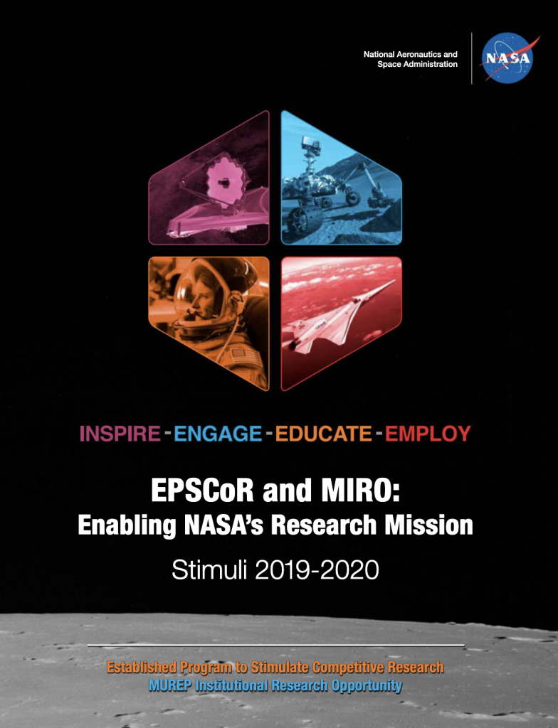NASA's EPSCoR and MIRO 2019-2020 Stimuli Released!