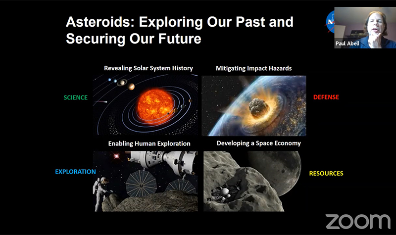 NASA Chief Scientist and UND graduate Paul Abell looks at asteroids as 'stepping stones' to reaching Mars and beyond