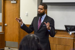 Black Law Students Association Hosts Talk on Implicit Bias