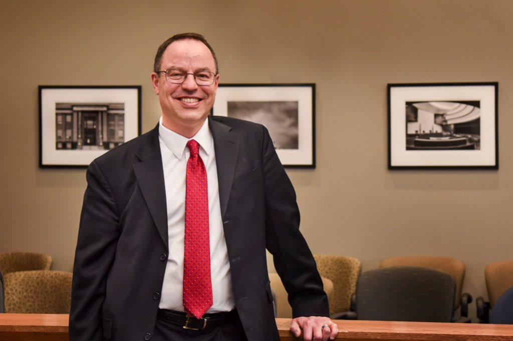 Grand Forks Herald:  UND law school dean to step down from role in 2022