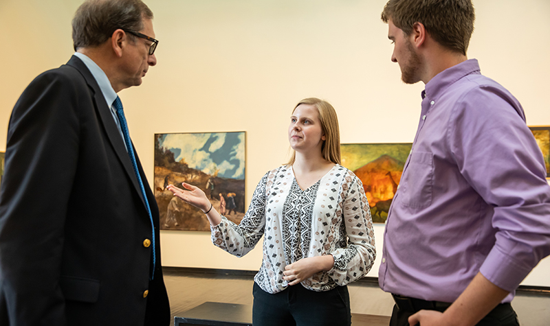 Student leaders talk about UND's new reality