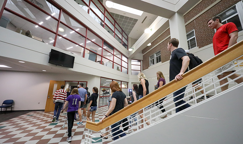 Forging connections with prospective students