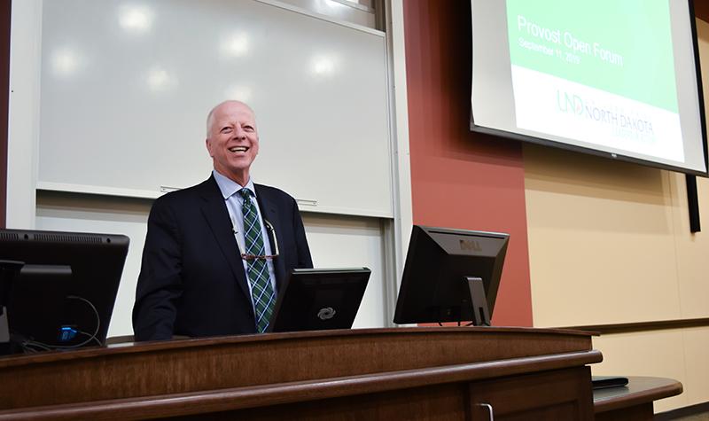 Provost's Forum documents UND's strengths