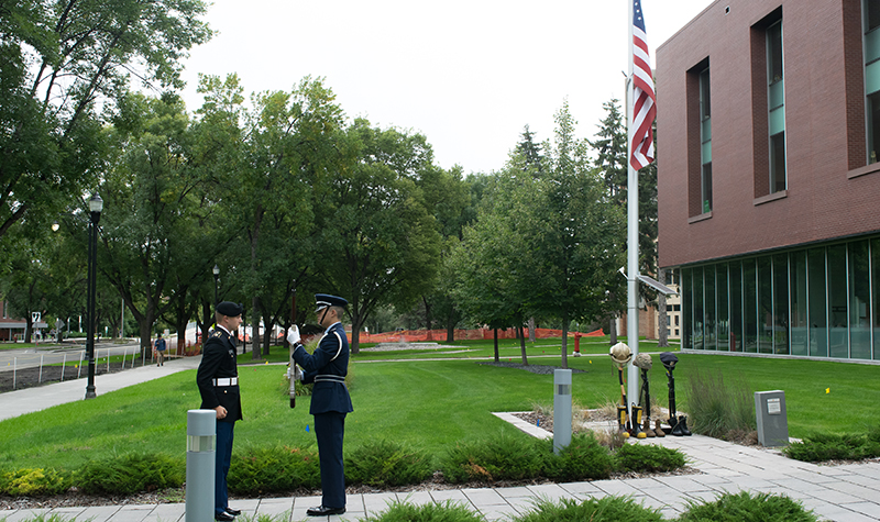 UND honors lives lost