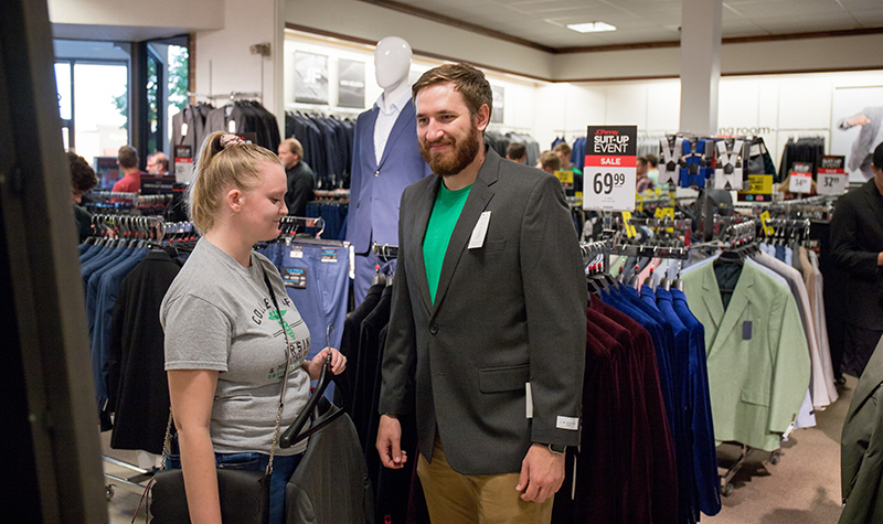 Hundreds 'Suit-Up' at JCPenney