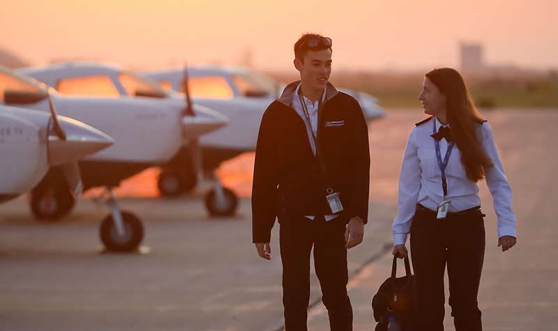 Pathway partnerships create careers for UND's aspiring pilots