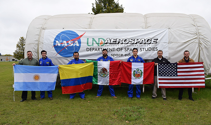 Down-to-earth international space exploration