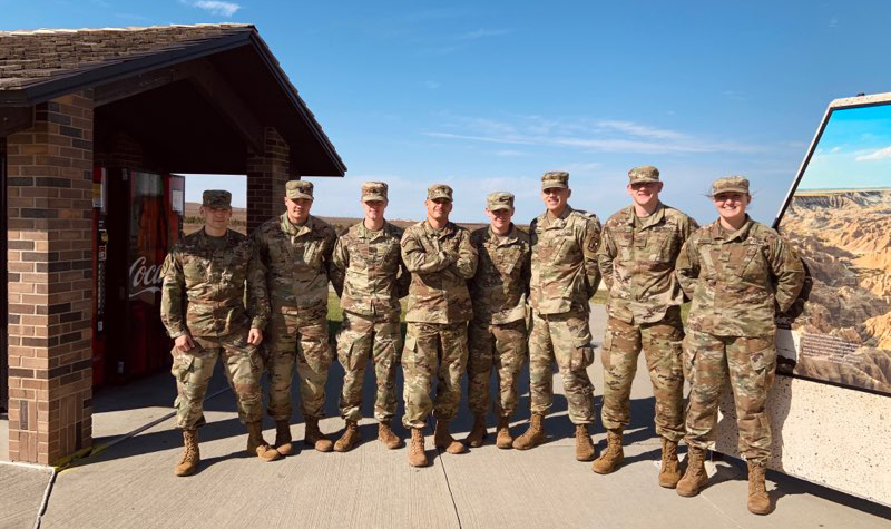 Army Strong: UND Army ROTC team excels at Ranger Challenge