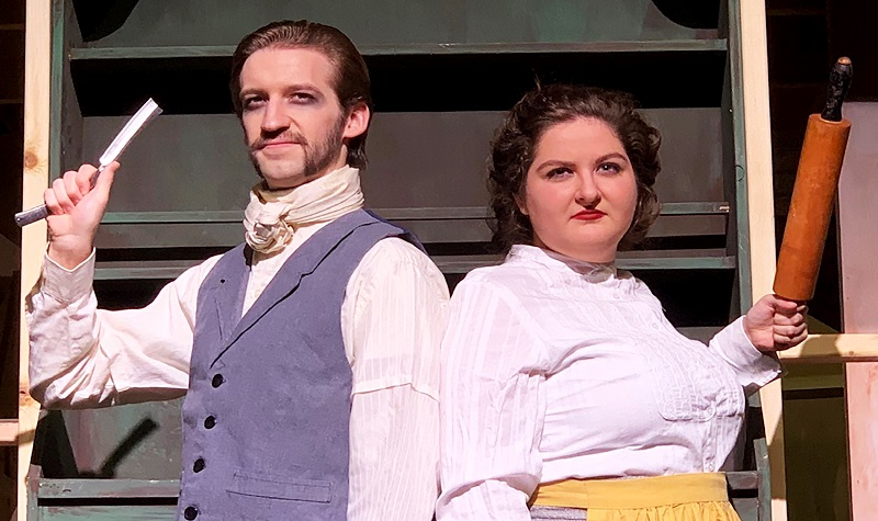 Sweeney Todd seeks revenge on Burtness stage