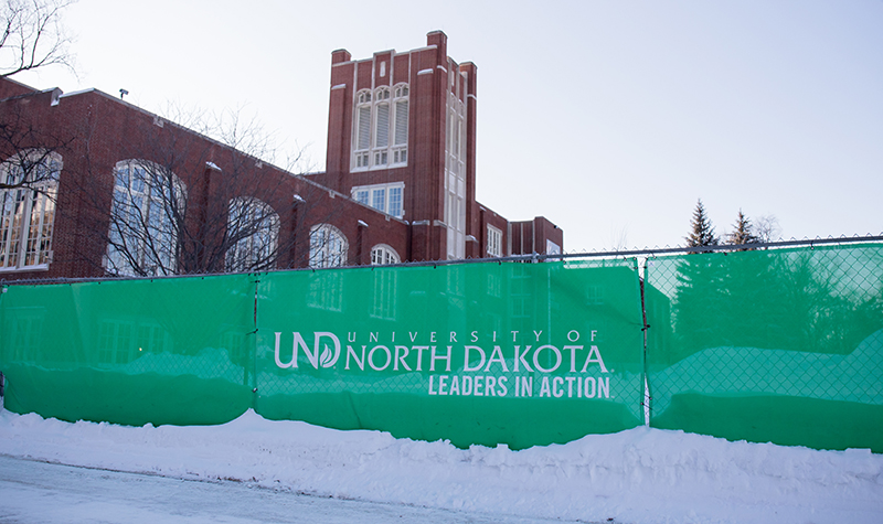 Library makeover: Welcome noise for UND's quiet place