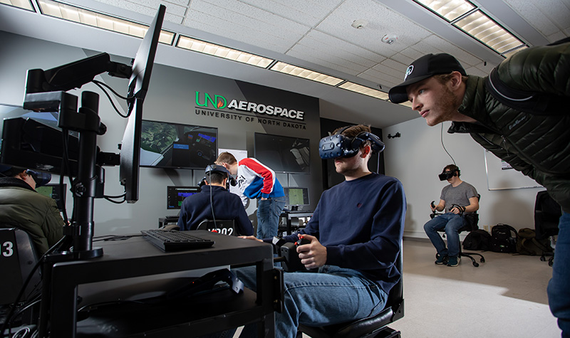 Simulators on campus: UND Aerospace launches VR flight trainer