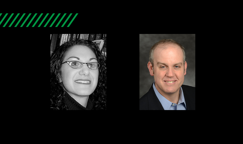 Puttin' on the Fritz: Two named Chester Fritz Distinguished Professors at UND