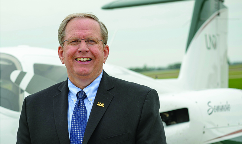 Paul Lindseth to step down as dean of UND Aerospace