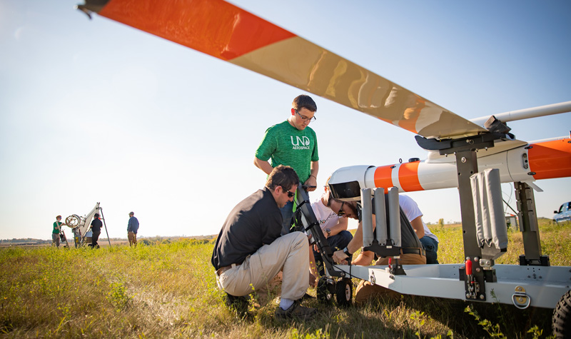 UND leads in UAS integration innovation