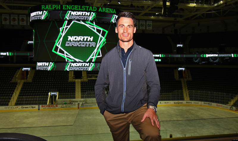 Grand Forks' new mayor will work closely with UND
