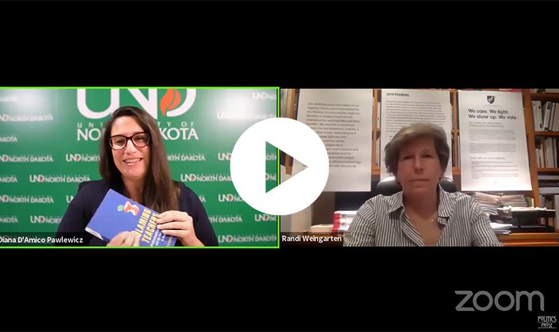 Diana D'Amico Pawlewicz talks 'Blaming Teachers' with Randi Weingarten