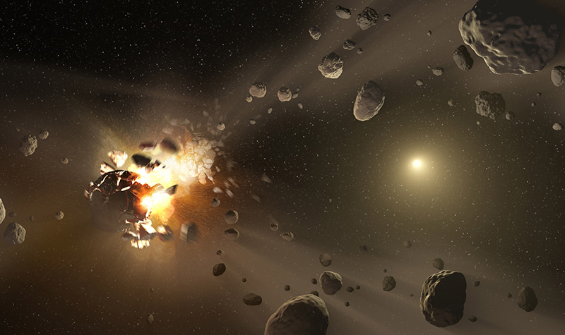 UND astronomers discover source of many meteorites