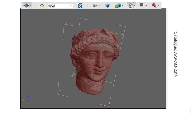 New book brings 3D technology to ancient Cypriot sculptures