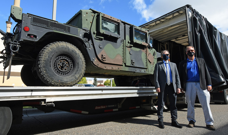 UND to develop augmented reality system for Humvees