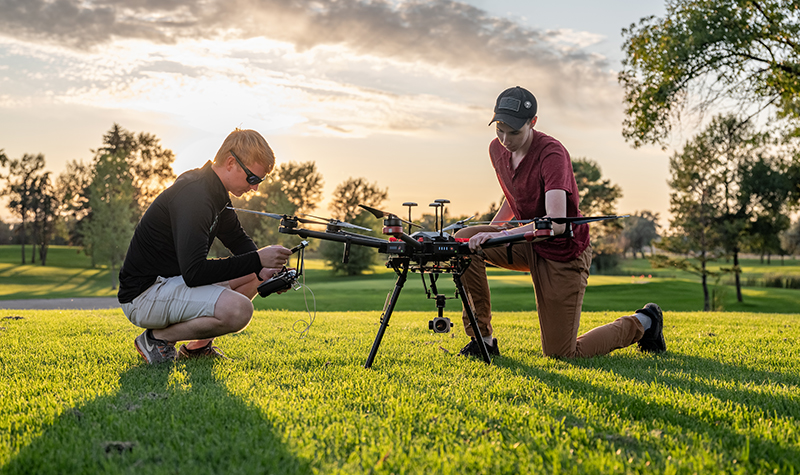 UND researchers, startup HCI partner to advance autonomous technology in UAS