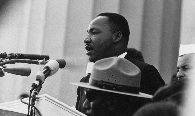 VIDEO: President Armacost, UND commit to helping Dr. King's legacy live on
