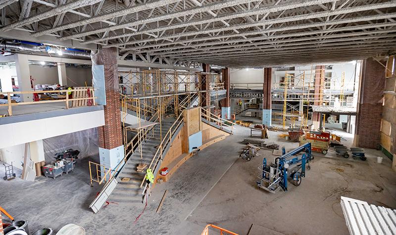 Sneak peek shows spectacular Memorial Union taking shape