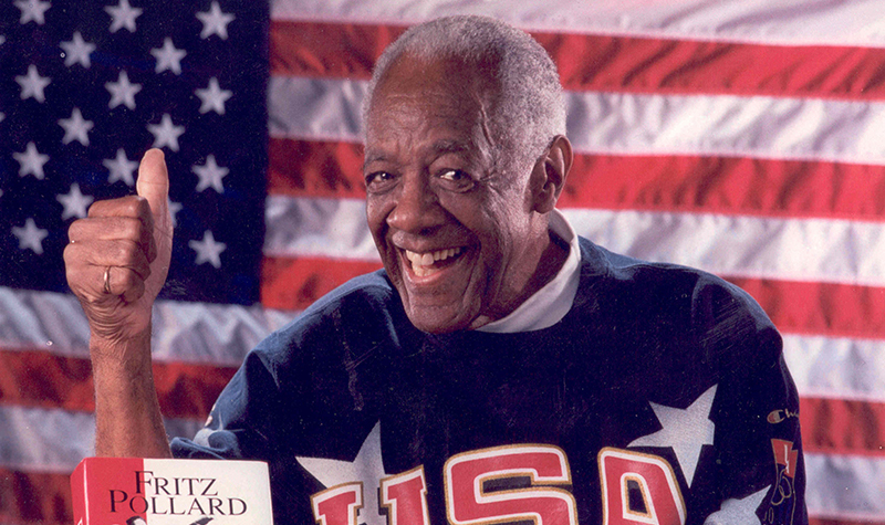 Remembering Fritz Pollard Jr.'s Olympic legacy