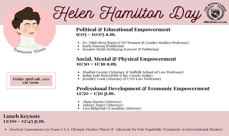Helen Hamilton Day takeaway: Empowered women empower women