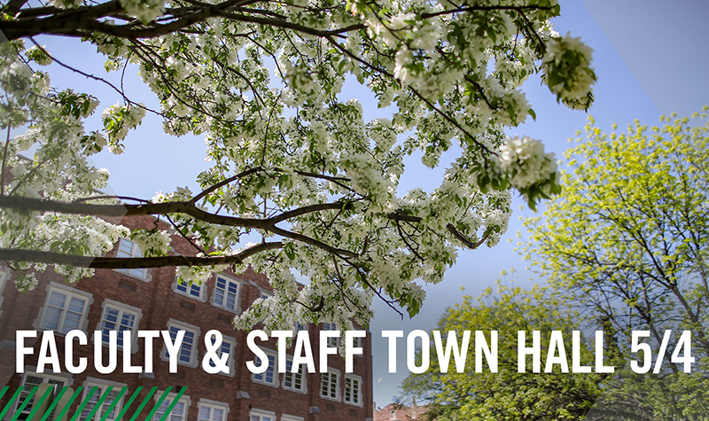 Faculty & Staff Town Hall: 'Thank you,' UND administrators say