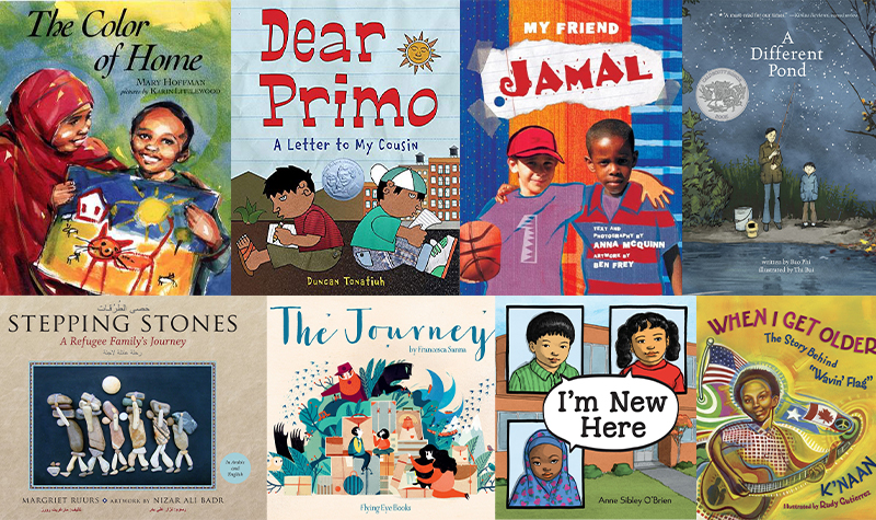 Helping New American families learn English via picture books