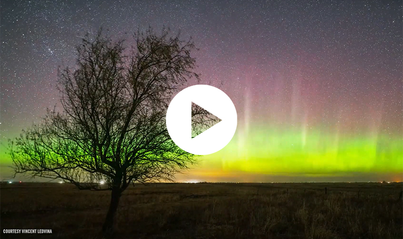 VIDEO: Showcasing the Northern Lights