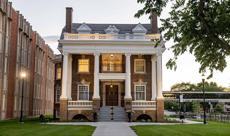 UND's elegant home for graduate students