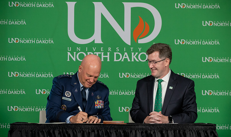 UND becomes first university in new U.S. Space Force program