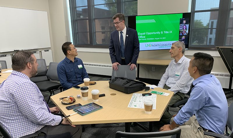 New faculty forge ties to each other and UND