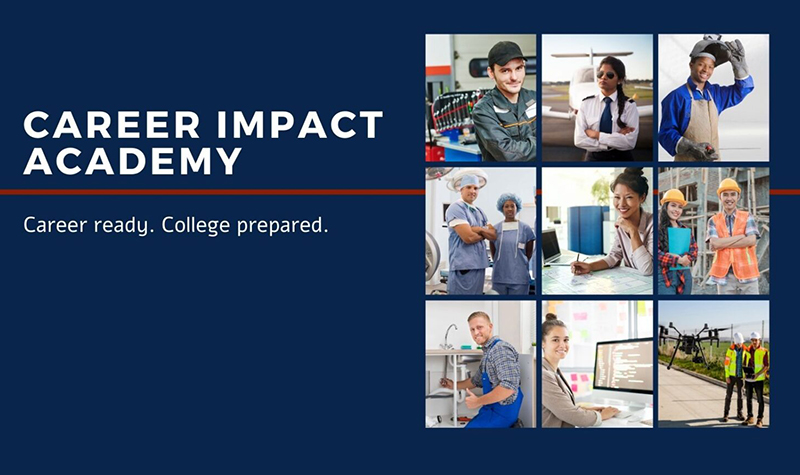 UND steps up to support Career Impact Academy